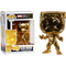 Funko Pop! Marvel Studios: The First Ten Years - Black Panther Gold Chrome #383 - The Amazing Collectables