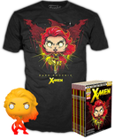 Funko - X-Men - Dark Phoenix Orange Translucent - Vinyl Figure & T-Shirt Box Set - The Amazing Collectables