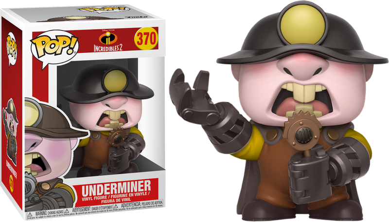 Funko Pop! ncredibles 2 - The Underminer