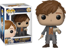 Funko Pop! Fantastic Beasts 2: The Crimes of Grindelwald - Newt Scamander with Postcard
