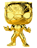 Funko Pop! Marvel Studios: The First Ten Years - Gold Chrome Pop! Vinyl Figure Bundle (Set of 10) - The Amazing Collectables