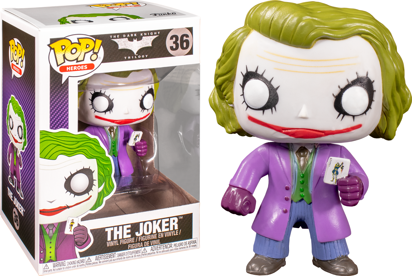Funko Pop Batman The Dark Knight The Joker 36 The Amazing Collectables