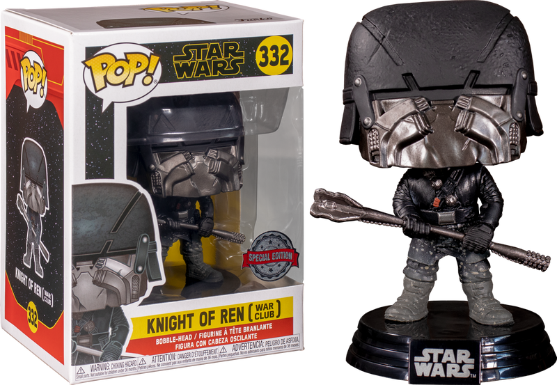 Funko Pop! Star Wars Episode IX: The Rise Of Skywalker - Knight Of Ren with War Club