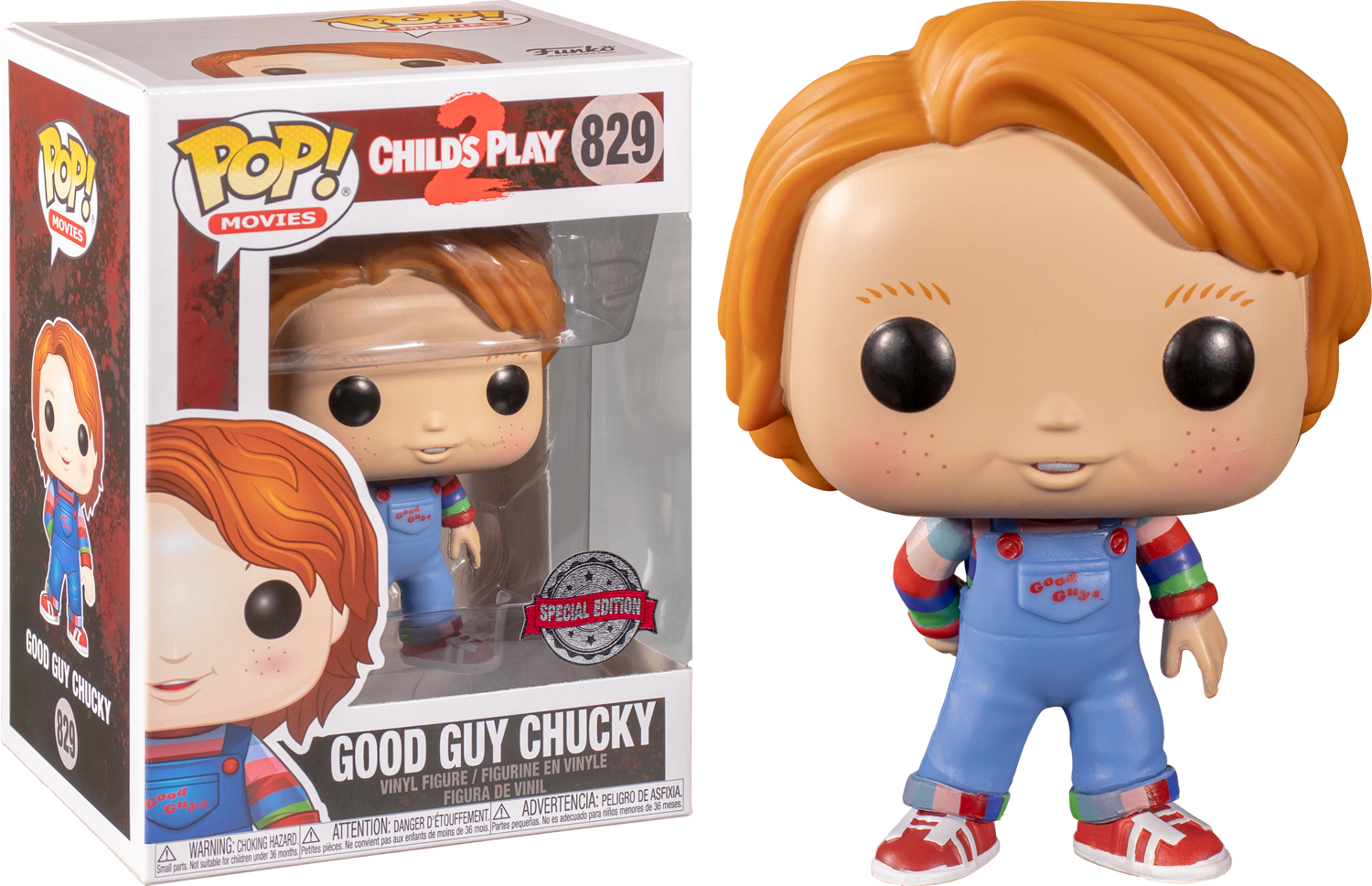 Funko Pop Child S Play 2 Good Guy Chucky 829 The Amazing Collectables