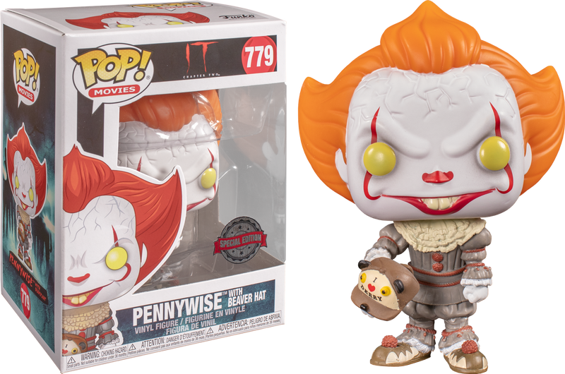 Funko Pop! It: Chapter Two - Pennywise with Beaver Hat