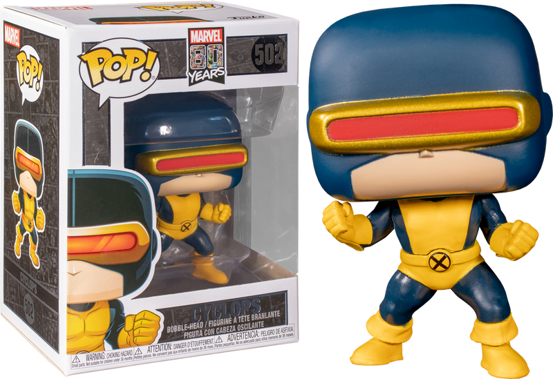 Funko Pop! X-Men - Cyclops First Appearance 80th Anniversary