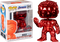 Funko Pop! Avengers 4: Endgame - Hulk with Nano Gauntlet Red Chrome #499 - The Amazing Collectables