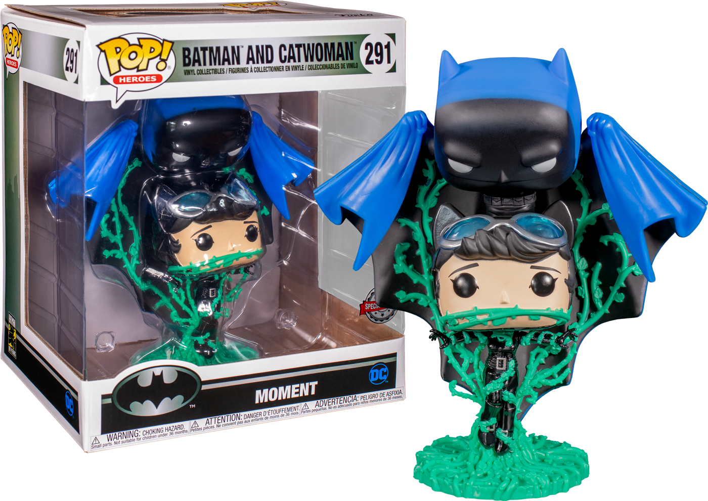 Funko Pop Batman Hush Batman And Catwoman Comic Moments 2 Pack 291 The Amazing Collectables