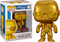 Funko Pop! WWE - The Rock Metallic Gold Smackdown 20th Anniversary #46 - The Amazing Collectables