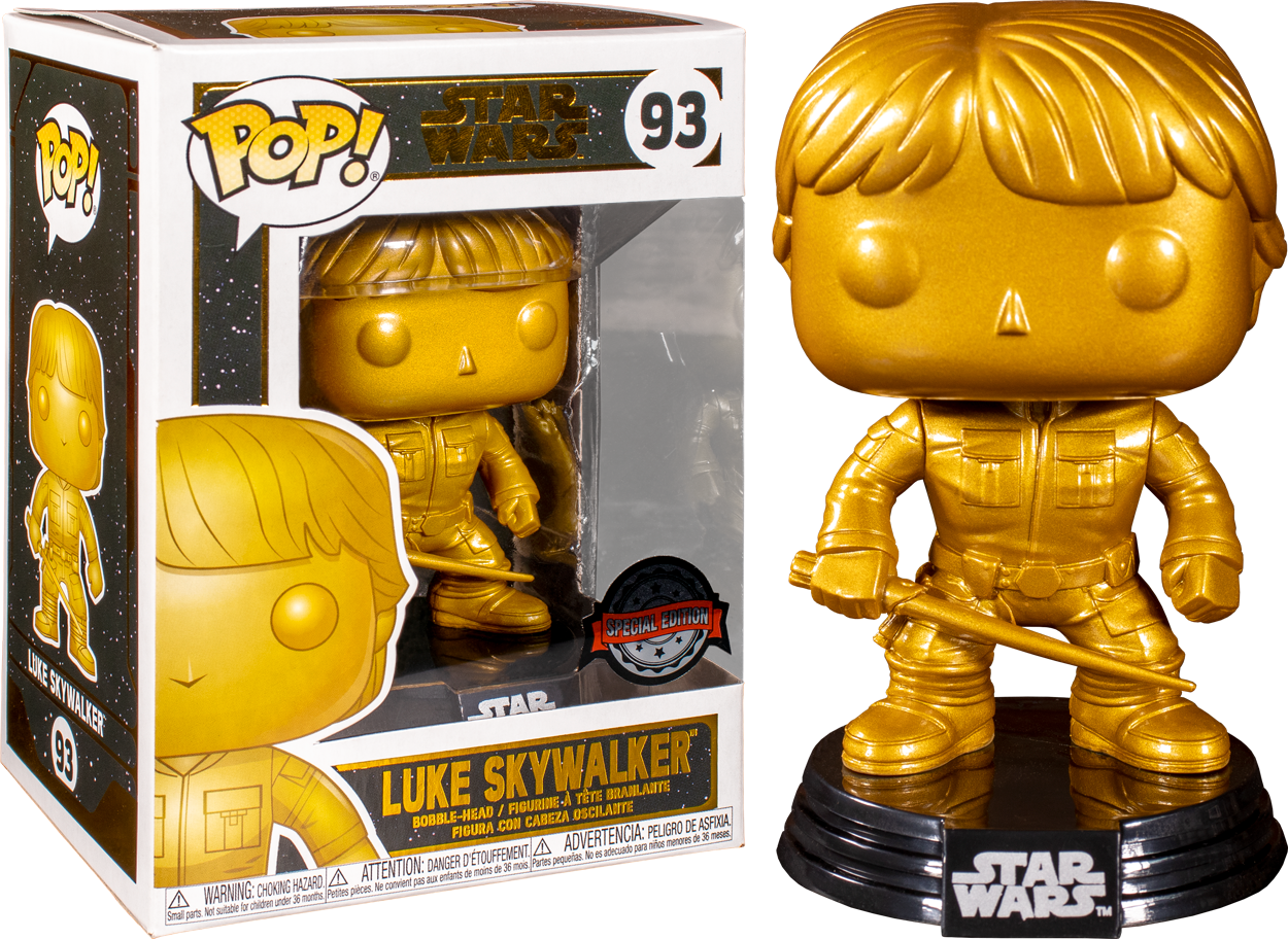 STAR WARS EPISODE VIII FUNKO POP LUKE SKYWALKER