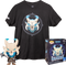 Funko - Fortnite - Ragnarok Glow in the Dark #465 - Vinyl Figure & T-Shirt Box Set - The Amazing Collectables