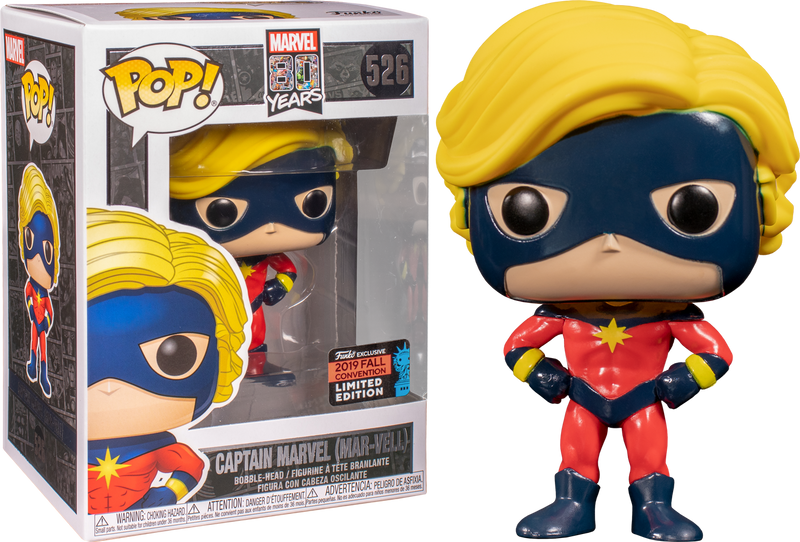 Funko Pop! Captain Marvel - Mar-Vell First Appearance