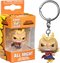 Funko Pocket Pop! Keychain - My Hero Academia - All Might Silver Age - The Amazing Collectables