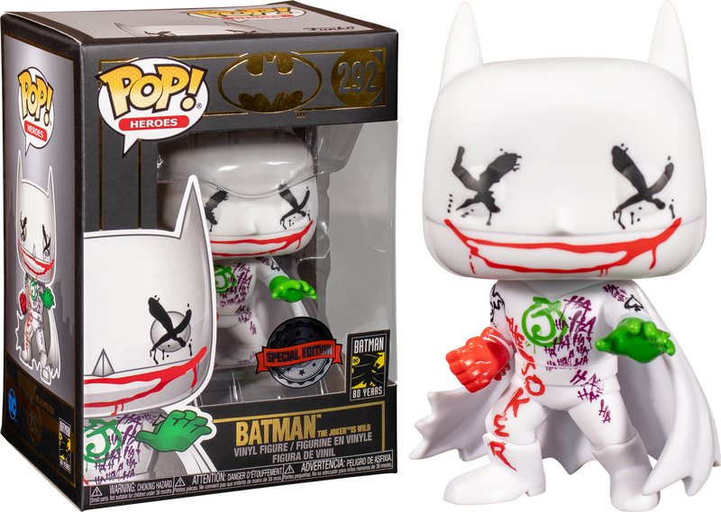 Funko Pop! Batman - The Joker's Wild 80th Anniversary