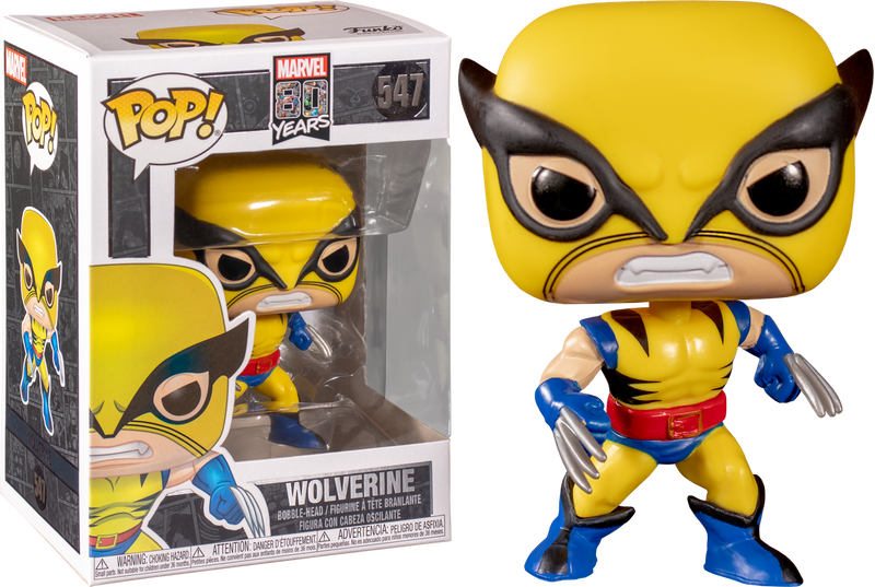 Funko Pop! X-Men - Wolverine First Appearance 80th Anniversary
