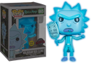 Funko Pop! Rick and Morty - Hologram Rick Glow in the Dark