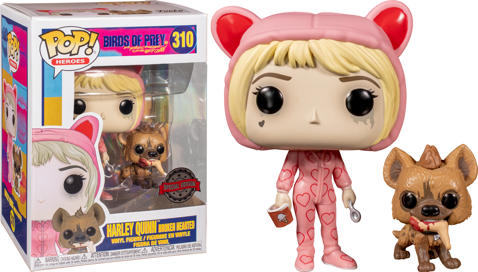 Funko Pop Birds Of Prey 2020 Harley Quinn Broken Hearted 310 The Amazing Collectables