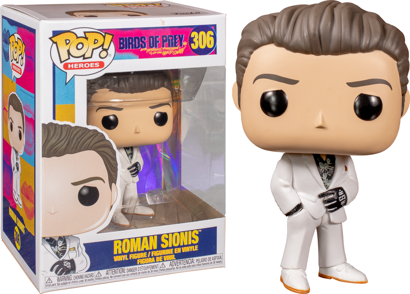Funko Pop Birds Of Prey 2020 Roman Sionis 306 Chance The Amazing Collectables