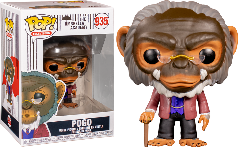 Luther Hargreeves Pop Umbrella Academy Vinyl-FUN44510-FUNKO