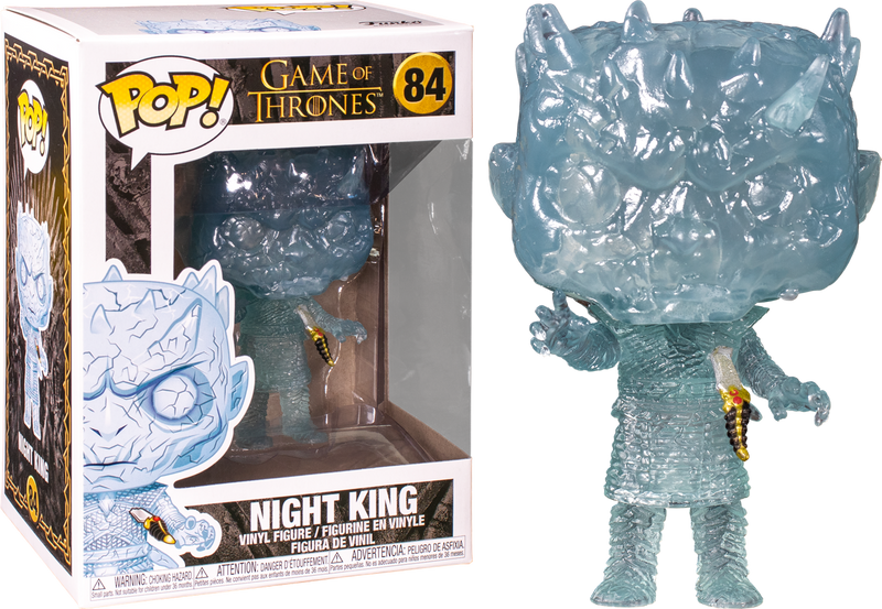 Funko Pop! Game of Thrones - Crystal Night King with Dagger