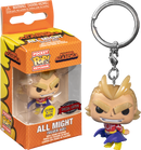 Funko Pocket Pop! Keychain - My Hero Academia - All Might Silver Age Glow in the Dark - The Amazing Collectables