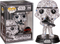 Funko Pop! Star Wars - Stormtrooper Futura with Pop! Protector #296 - The Amazing Collectables