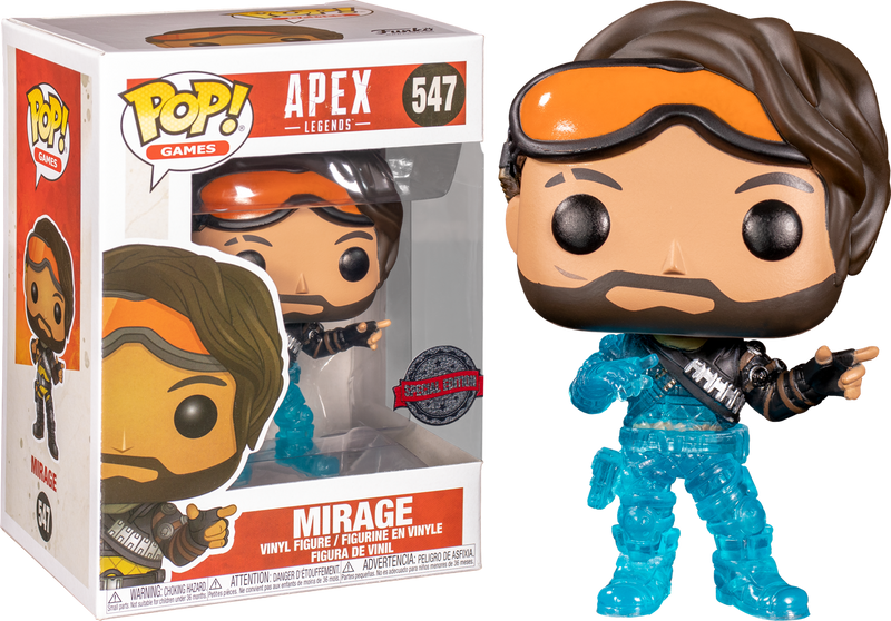 Funko Pop! Apex Legends - Mirage Translucent