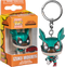 Funko Pocket Pop! Keychain - My Hero Academia - Izuku Midoriya (Deku with Helmet) Metallic - The Amazing Collectables