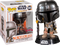 Funko Pop! Star Wars: The Mandalorian - The Mandalorian Chrome #345 - The Amazing Collectables