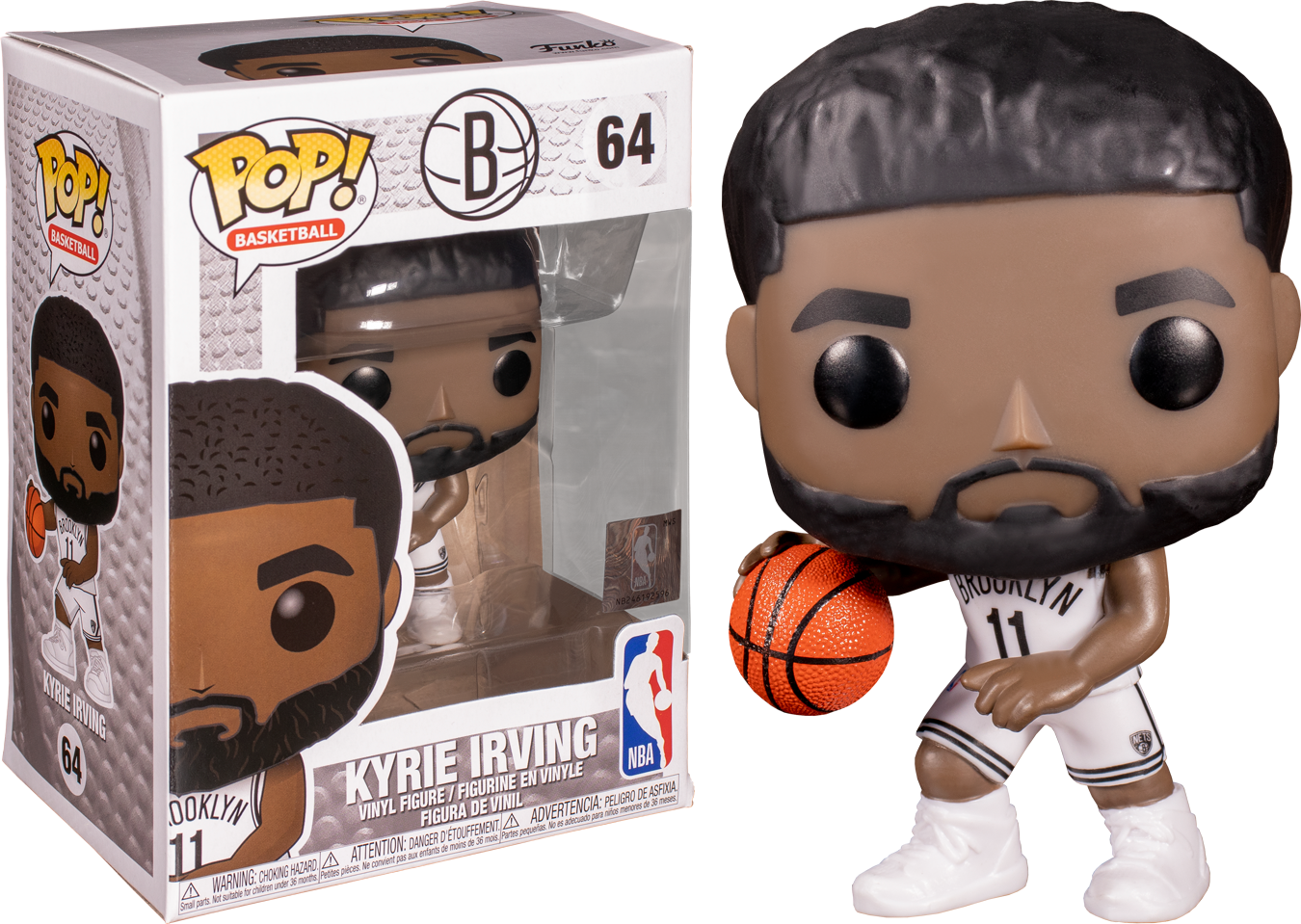 Vinyl Pop Basketball NBA Brooklyn Nets Kyrie Irving