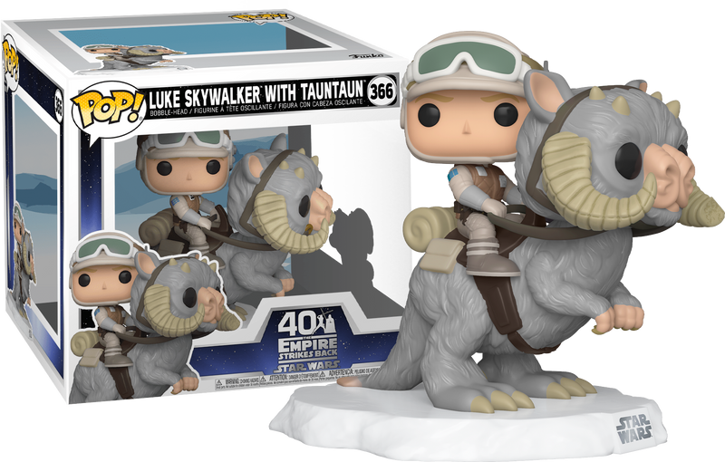 Funko Pop! Star Wars Episode V: The Empire Strikes Back - Luke Skywalker on Tauntaun Deluxe