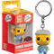 Funko Pocket Pop! Keychain - The Simpsons - Homer in Muumuu - The Amazing Collectables