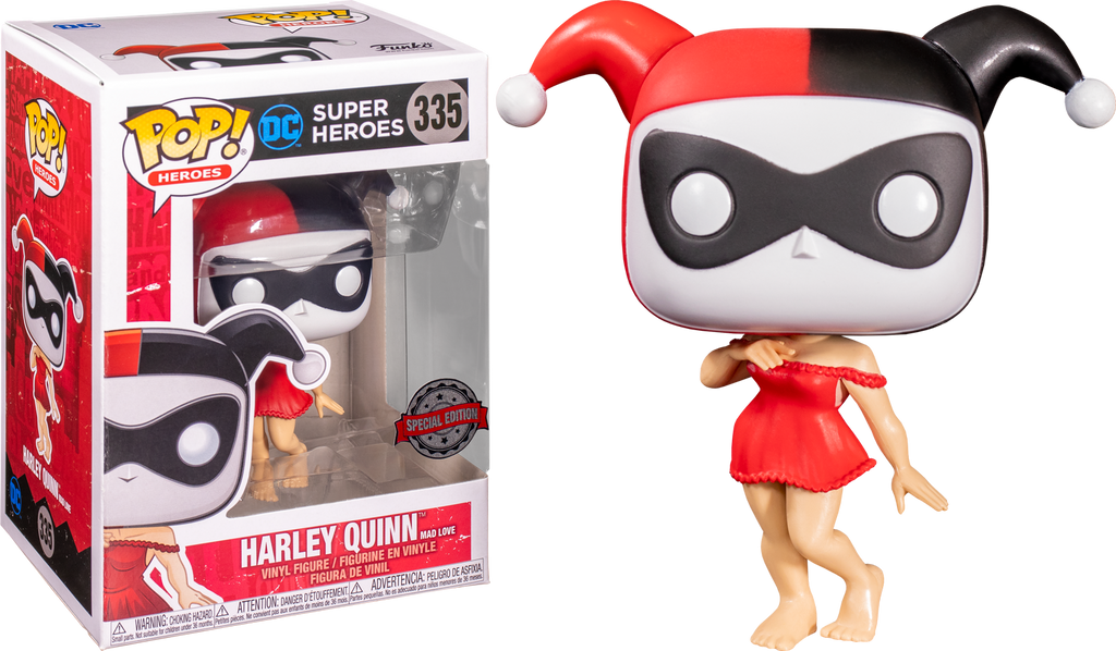 Funko Pop The Batman Adventures Mad Love Harley Quinn In Dressing Gown 335 The Amazing Collectables