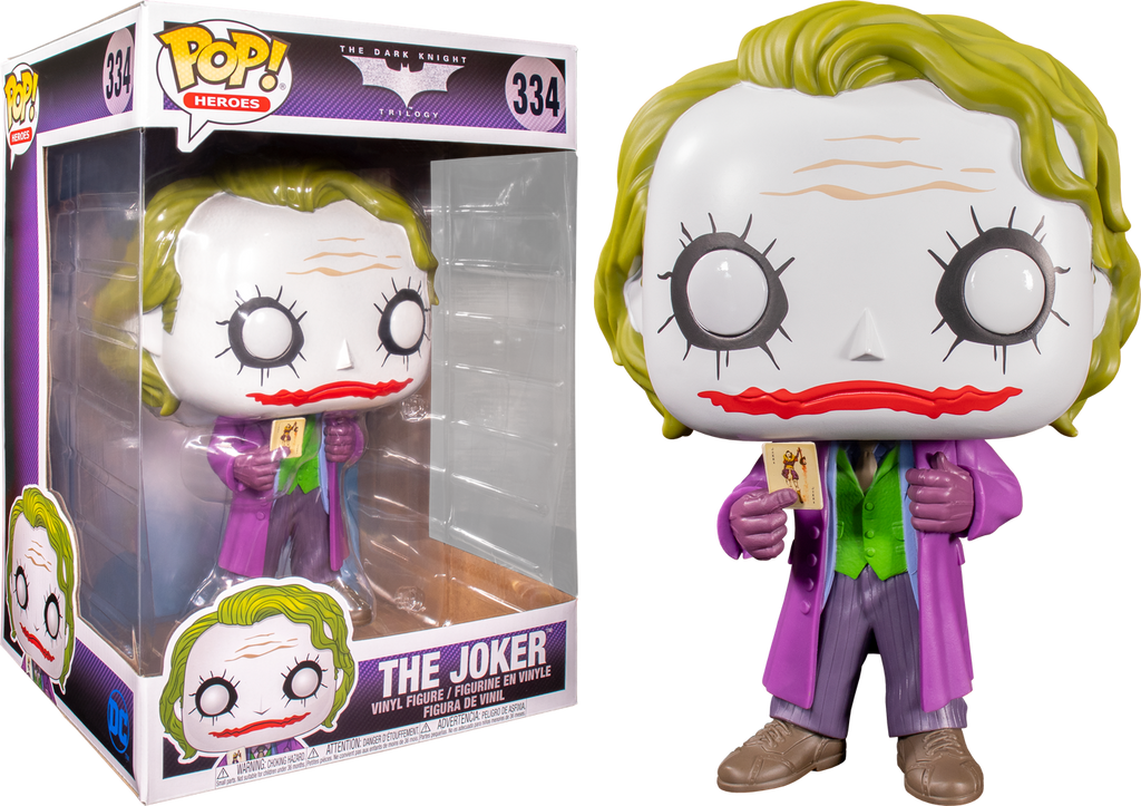 Funko Pop Batman The Dark Knight Joker 10 334 The Amazing Collectables