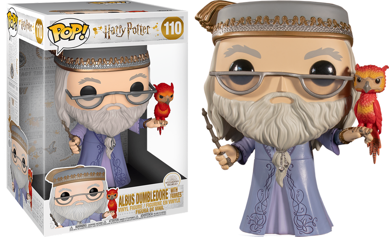 Funko Pop! Harry Potter - Dumbledore with Fawkes 10""