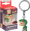 Funko Pocket Pop! Keychain - Jurassic Park - Velociraptor with Red Eyes - The Amazing Collectables