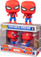 Funko Pop! Spider-Man (1967) - Spider-Man vs Spider-Man Imposter - 2-Pack - The Amazing Collectables