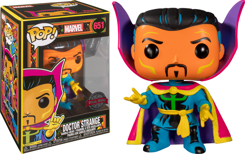 Funko Pop! Marvel: Black Light - Guardians of the Neon - Bundle (Set of 4) - The Amazing Collectables