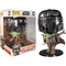 "Funko Pop! Star Wars: The Mandalorian – The Mandalorian Chrome Armour with The Child 10"" #380 - The Amazing Collectables"