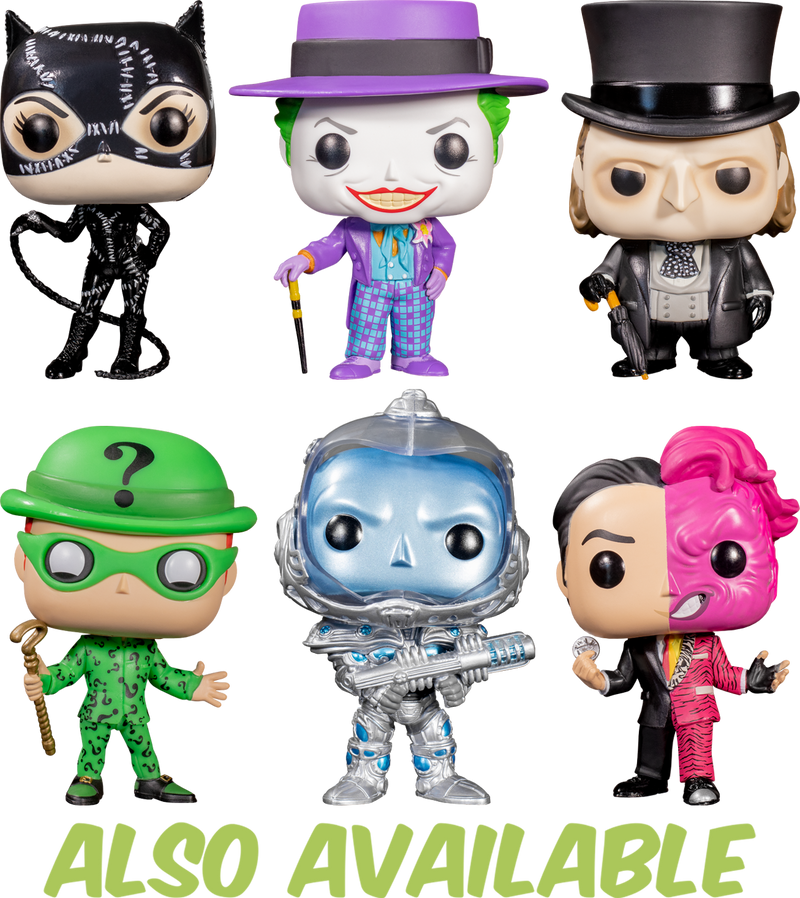 Vinyl Figure 340-NOUVEAU! The Riddler Batman Forever Funko Pop