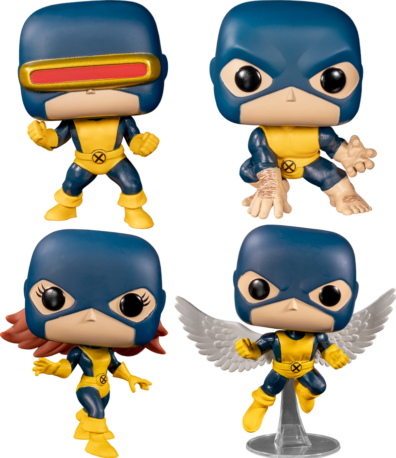 Funko Pop! X-Men - First Appearance 80th Anniversary - Bundle (Set of 4) - The Amazing Collectables