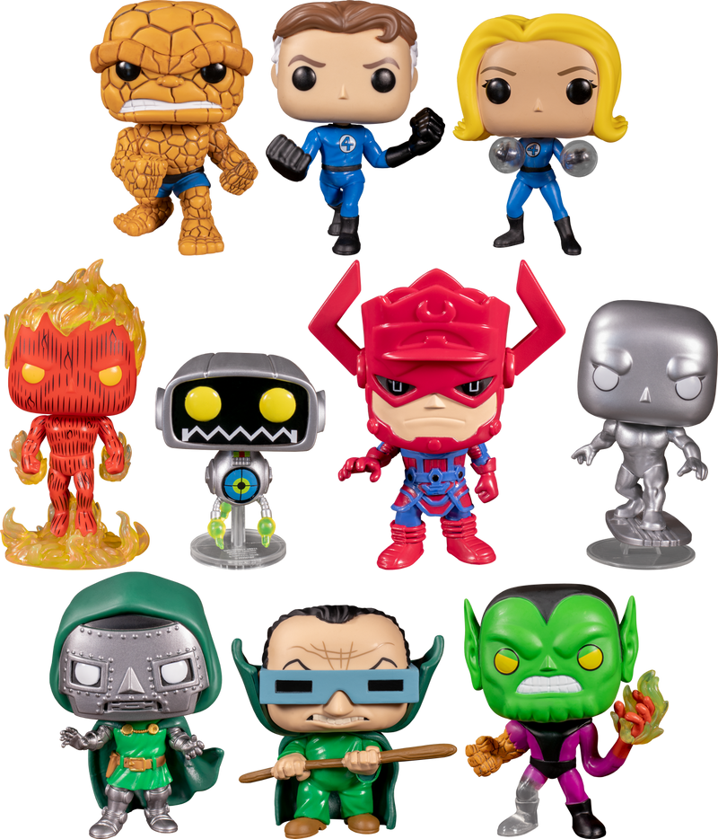 Funko Pop! Fantastic Four - Super-Skrull