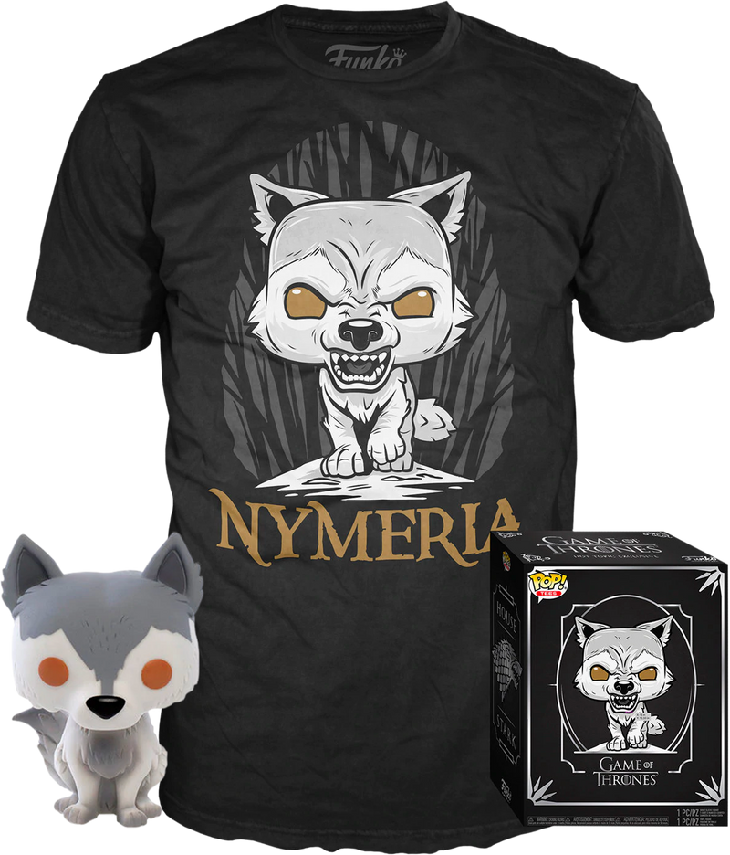 Funko - Game of Thrones - Nymeria - Vinyl Figure & T-Shirt Box Set - The Amazing Collectables