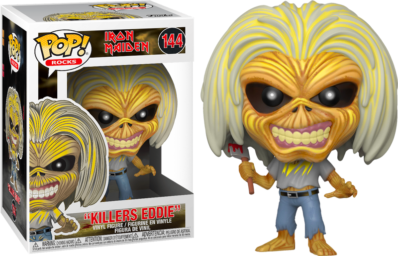 Funko Pop! Iron Maiden - The Number of the Pop! - Bundle (Set of 4) - The Amazing Collectables
