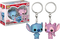 Funko Pocket Pop! Keychain - Lilo & Stitch - Stitch & Angel - 2-Pack - The Amazing Collectables