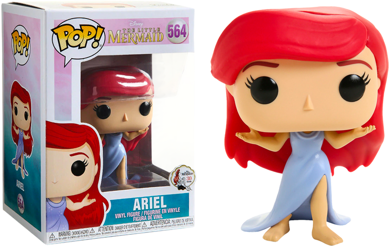 Funko Pop! The Little Mermaid - Ariel in Purple Dress