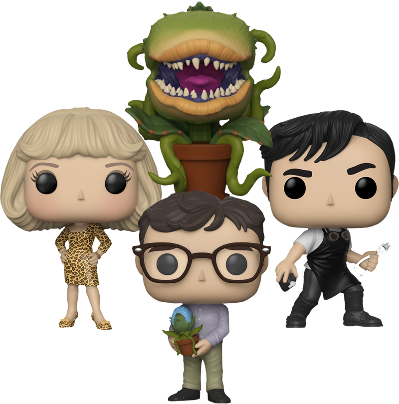 Funko Pop!  Little Shop of Horrors - Little Pop! Of Horrors - Bundle (Set of 4) - The Amazing Collectables