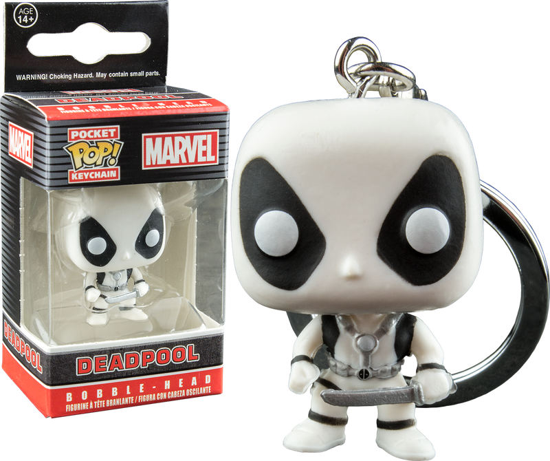 Funko Pocket Pop! Keychain - Deadpool - White X-Force Pocket - The Amazing Collectables