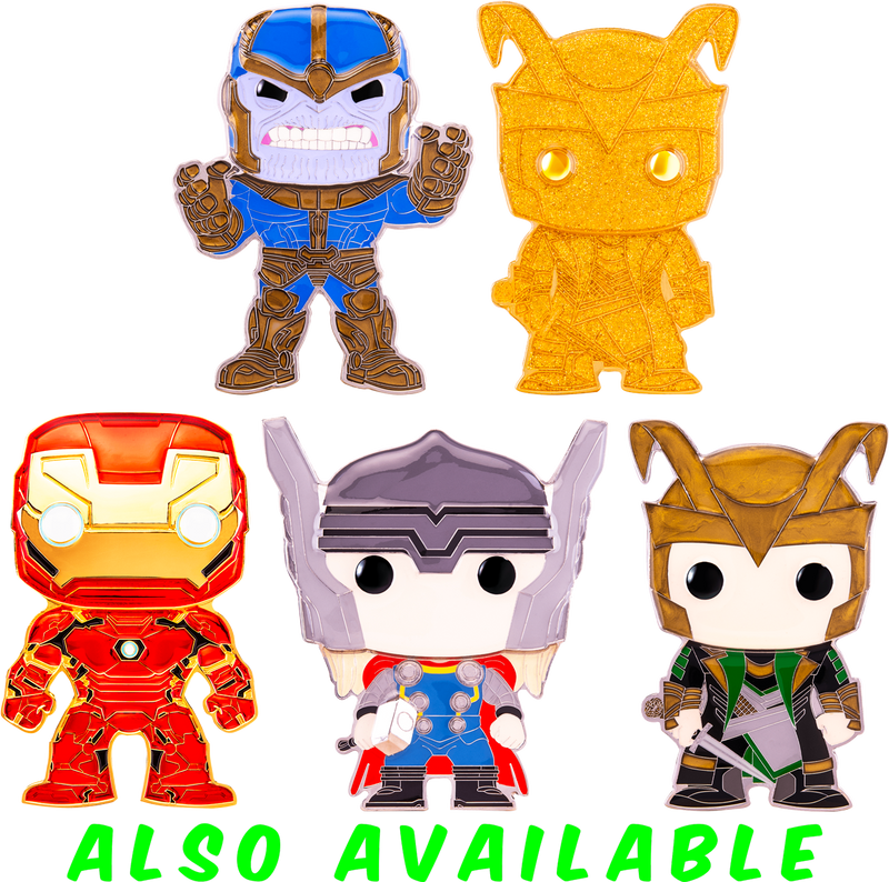 "Funko Pop! The Avengers - Thanos 4"" Enamel Pin"