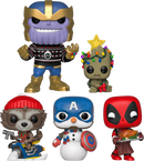 Funko Pop! The Avengers - Thanos with Ugly Sweater Christmas Holiday